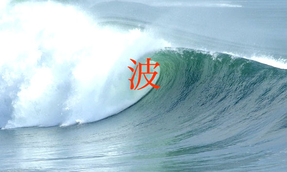 波情報 ロゴ