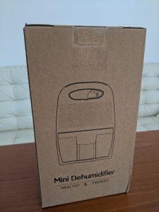 除湿器の箱